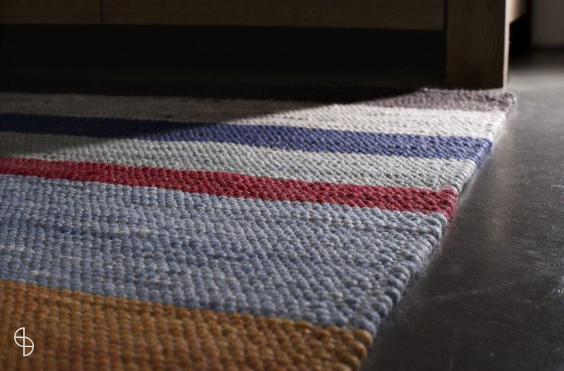 Bellamy stripe karpet perletta