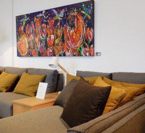 Kunst Marieke Brouwers bij Spinde Next Zwolle