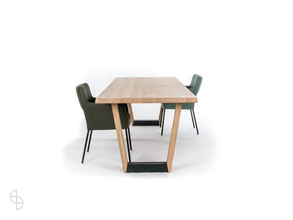 spinde next eiken eetkamertafel modern zwolle arco base spinde next table manners