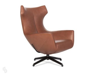 Design on stock leren draaifauteuil Nosto spinde next zwolle