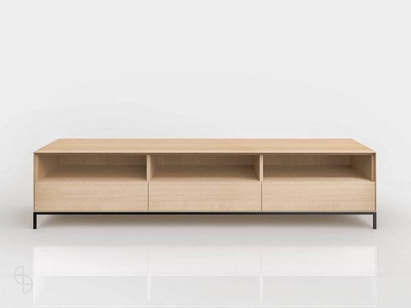 kluskens yale-tv-dressoir-kast eiken modern