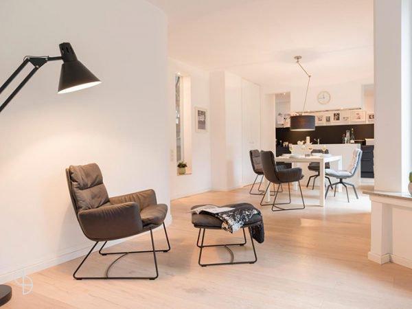 Arva lounge laag fauteuil leer Zwolle
