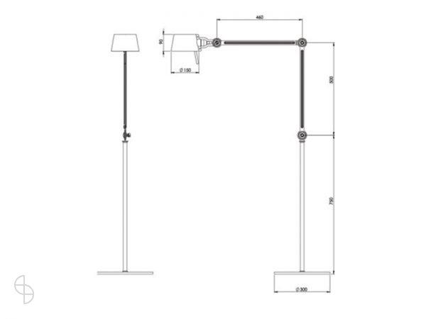 tonone afmeting bolt-floor-lamp-double-arm-2