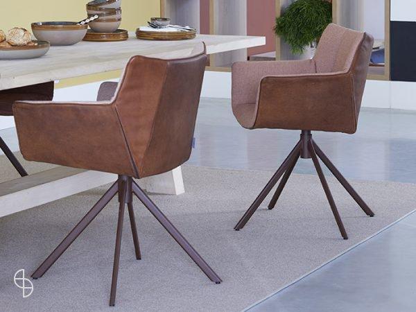 Label van den berg meubelen stoelen Gustav jr