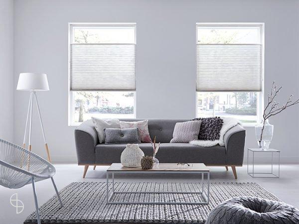 Sunway luxe plisse duette raamdecoratie zwolle