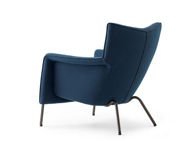 Pode transit one fauteuil zijkant