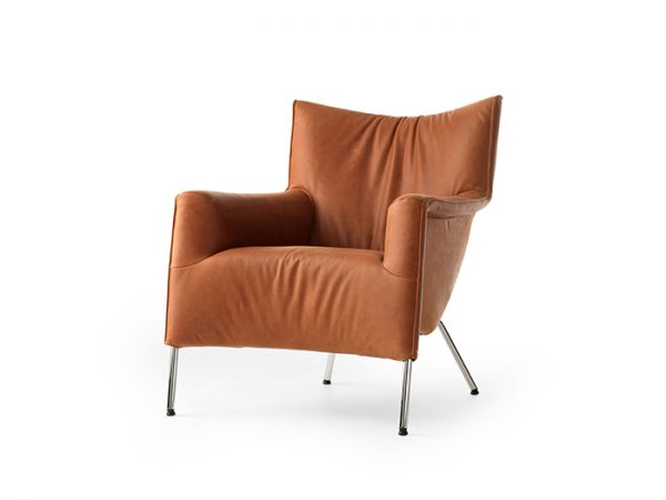Pode transit one lage fauteuil leer