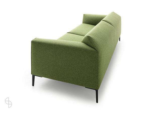 Pode bank Fold groene stof Divina