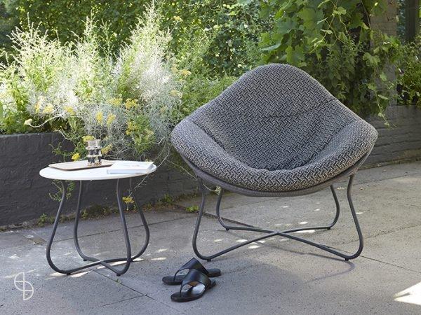 Label Hidde outdoor design stoel