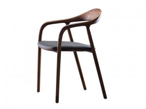 Artisan Neva chair houten eetkamerstoel noten eiken