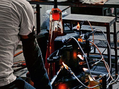 miniforms productie Murano glas