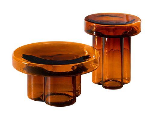 miniforms soda oranje glas tafel